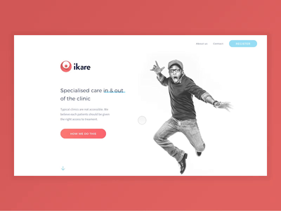 ikare website design web design