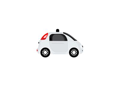 Logo Design Challenge (Day 5) - Driverless Car