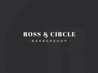 Logo Design Challenge (Day 13) - Barbershop (Ross & Circle)
