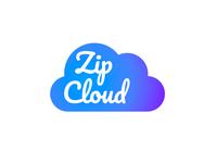 Logo Design Challenge (Day 14) - Cloud Computing (Zip Cloud)