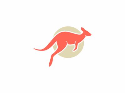 Logo Design Challenge (Day 19) - Kangaroo