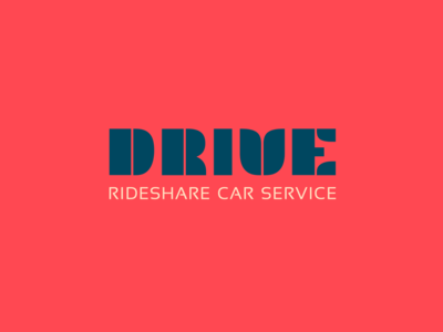 Logo Design Challenge (Day 29) - Ride Share Service (Drive)