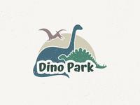 Logo Design Challenge (Day 35) - Dinosaur Amusement Park