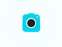 Logo Design Challenge (Day 40) - Camera App