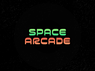 Daily Logo Challenge (Day 50) - Space Arcade