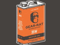 GEAR-RAT Oilcan