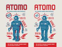 Atomo the retro robot