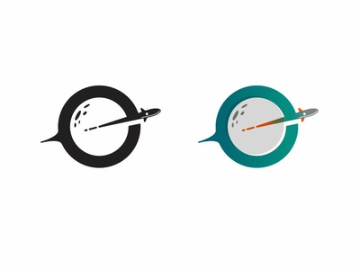new logo logo space moon planet rocket e
