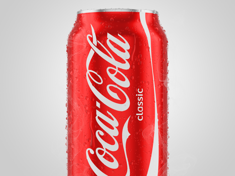 Coca Cola Can - 3D by Felipe Castro on Dribbble