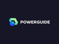 POWERGUIDE logo logos logo design logodesign logotype designer logo design