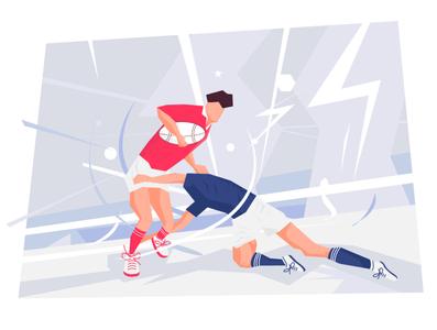 Rugby illustration