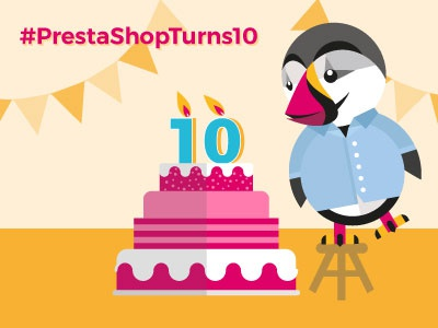 Prestonblowscandles 10 years PrestaShop