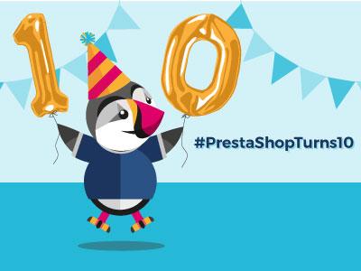 Prestonturns10 PrestaShop Birthday 2017