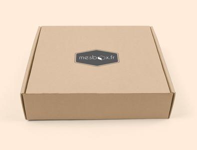 Brand ID MesBox.fr  box sticker