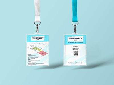 badge Wezevent PSConnect Lyon