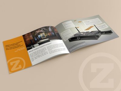 Brochure for Zappiti