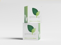 GreenUp box for stand