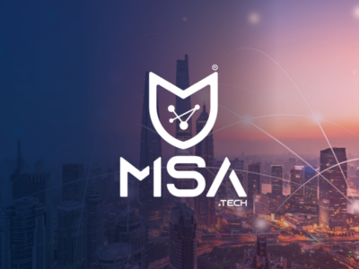 Msa tech logo design