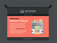 Scoop Welcome Email