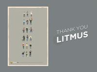 Thank you litmus
