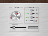 Old Stereo UI