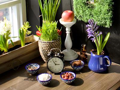 Haft Seen nowruz norouz persian new year