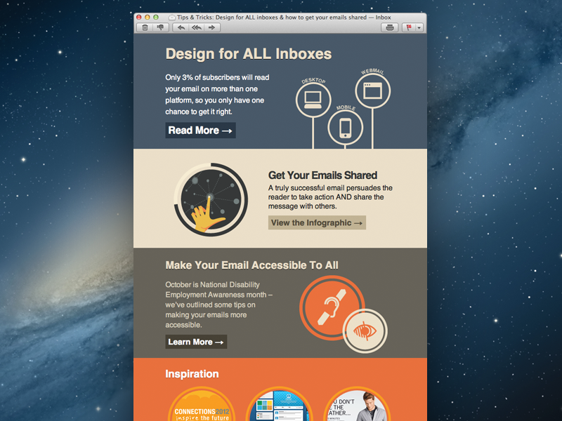 Litmus Newsletter litmus newsletter email email design pastel circles circular