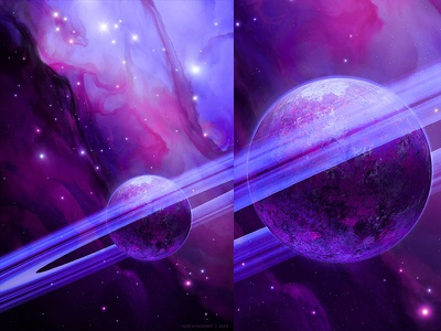 Untitled Nebula 1 planet photoshop space fantasy artistmef illustration concept art igor vitkovskiy art