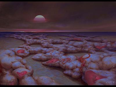 Mother Desert desert crabcore artistmef wallpaper art fantasy organic design surrealism surreal igor vitkovskiy concept art