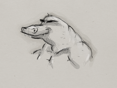 Croc on roids
