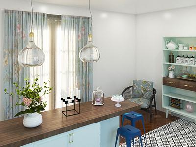 3d Kitchen space