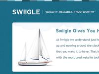 Swiigle Homepage