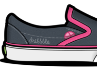 Dribbble Slip On Shoes