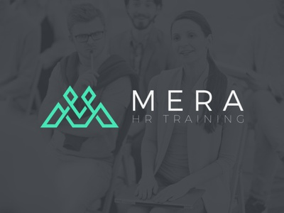 Mera logo branding logo