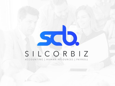 silcorbiz logo branding design logo