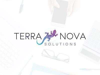 Terranova logo logo design logo