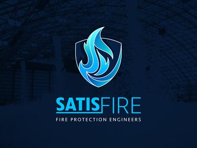 Satisfire logo logo