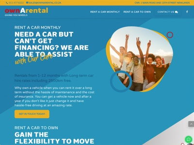 Own A Rental website