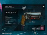 Sci-Fi Exploration #1 - Tyrell Corp Blaster Store