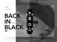 Amok Skate Brand UX/UI