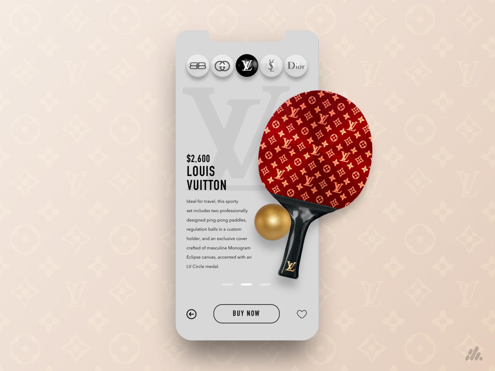 Louis Vuitton - Table Tennis Store App