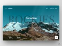 Rockies - Travel Site - UX/UI