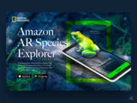 National Geographic Frog  - App UX/UI