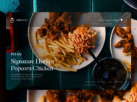 BIRD CO. - Restaurant UX/UI