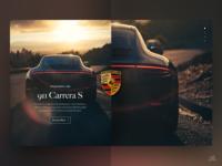 911 Carrera S UI/UX