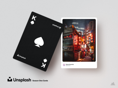 Unsplash Playing Cards - Season One