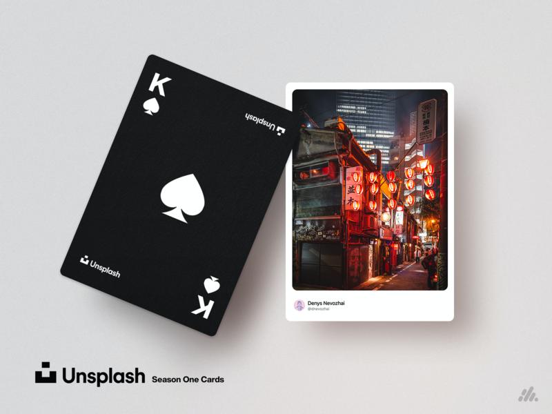 Unsplash Playing Cards - Season One