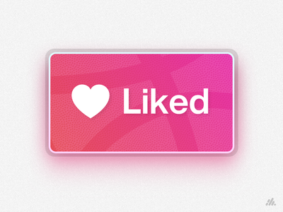 Thanks Dribbble! texture clean gradient vector liked dribbble illustration logo typography desktop branding ui visual design design