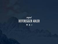 Deferegger Adler | landing-page