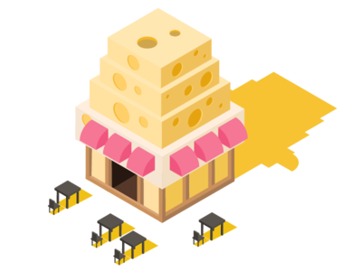 2.5d Cheese House